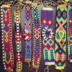 Pulseras de la amistad  con un estilo muy personal  hechas a mano con un toque de fashion Hand made Mexican -mexico  friendship bracelets  conun etilo bohemio, boho romantic, trendy  y Chic by Alta frecuencia Mexco https://www.facebook.com/pages/Alta-Frecuencia-Hecho-a-Mano/601323909922860