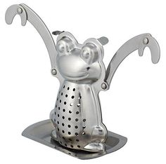 Monkey Infuser This delightful monkey infuser will brew your loose tea as it hangs around. Let it swing your day into action with your favorite loose tea. Fun and inventive, be sure to collect all three.