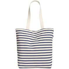 Baggu Canvas Shopper (470.340 IDR) ❤ liked on Polyvore featuring bags, handbags, tote bags, sailor stripe, white handbags, tote handbags, white purse, canvas shopping tote and striped tote bag