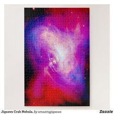 Jigsaws Crab Nebula. Jigsaw Puzzle