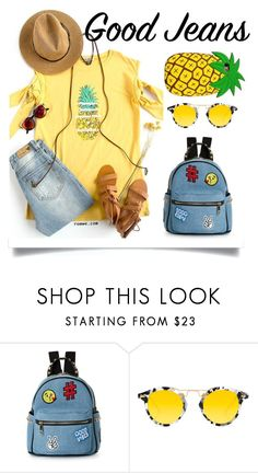 """""""Untitled #7"""" by shamsiya1 ❤ liked on Polyvore featuring IMoshion, Krewe, denim, pride, polyvoreeditorial and polyvorecontest"""