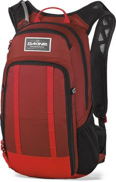 Dakine AMP 12L Cycling Rucksack Backpack With Reservoir - Red Rock/Blaze