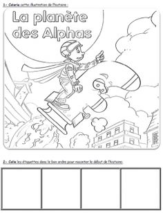 1000 images about les alphas on pinterest sons alphabet and confusion - Coloriage alpha ...