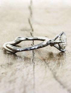 Nature wedding ring designs