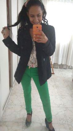 Friday #Look ;) #Green