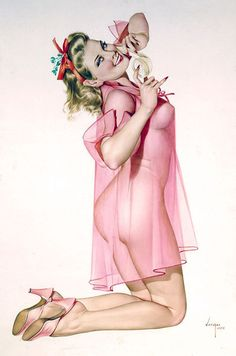 Alberto Vargas. Famous Pin-Up Artist #Pin-Ups #Vintage