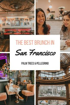 Love good food but also looking for a photo op? We're sharing our list of the best San Francisco restaurants to visit that are also Instagrammable. Brunch In San Francisco, San Francisco Shopping, San Francisco Restaurants, San Francisco Travel, Seafood Menu, Seafood Restaurant, Tater Tot Waffle, Northern California Travel, Crispy Brussel Sprouts
