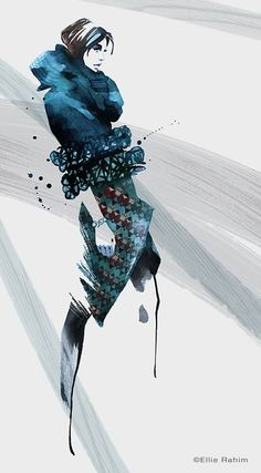Exclusive: Three Fashion Illustrators Interpret New York Fashion Week Fall 2014 - theFashionSpot