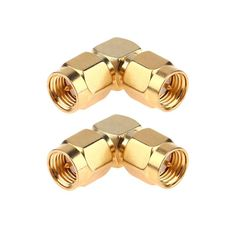 2Pcs 50 Ohm Connector Adapters SMA Male Head to SMA Male Right Angle 90 Degree Adapter Gold Plated Connector. Yesterday's price: US $1.81 (1.49 EUR). Today's price: US $1.32 (1.09 EUR). Discount: 27%.