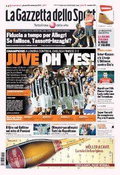 la prima pagina del 20 09 2012