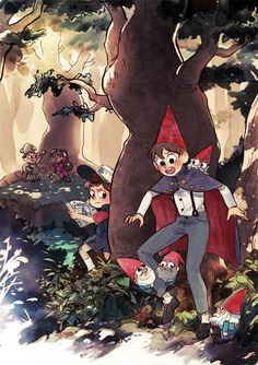Oh my gosh I just started watching OTGW today IT IS SOO FANTASTIC JUST ASDFGHJKL