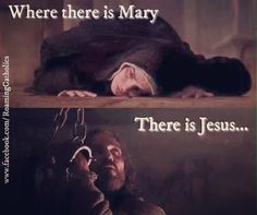 """Like at the Wedding Feast at Cana, Mary always leads us to Jesus. """"Do whatever he tells you."""" - John 2:5"""