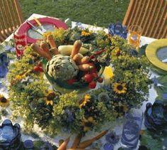 DIY Make a Sunflower & Thistle Wreath