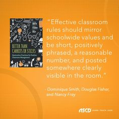 Book Excerpt: Better Than Carrots or Sticks - ASCD Inservice Motivational Quotes For Teachers, Teacher Quotes, Positive Phrases, Behavioral Issues, Classroom Community, Student Engagement, Education Quotes, Classroom Management, Teaching Kids