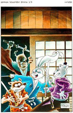 SDCC 2017 Comic Con Exclusive Usagi Yojimbo Figure Rabbit Ronin Stan Sakai LE