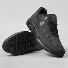 new product c8f95 805a9 Nike Air Max 1 Ultra Essential Shoes - Black Black