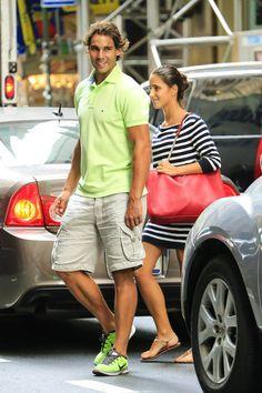 Rafa Nadal & Mary Perello in NYC