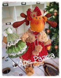 Cartamodelli babbi, renne elfi Natale 2015