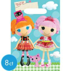 Lalaloopsy Favor Bags 8ct - Party City