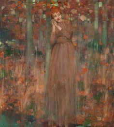 The Athenaeum - Autumn (George Henry, R.A., R.S.A., R.S.W. - No dates listed)