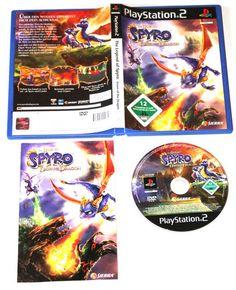 The Legend Of Spyro: Dawn Of The Dragon für Playstation 2,in OVP!