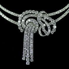 Platinum & Diamond Necklace weighing 20.00 carats of Diamonds, set in Platinum.