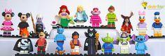 LEGO Disney Minifigures Disney Minifigures, Lego Disney