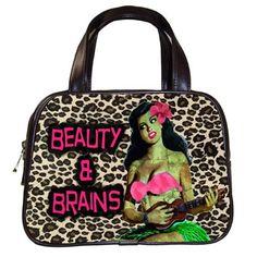 Hula Zombie Handbag Preorder Deposit by LttleShopOfHorrors on Etsy, $10.00