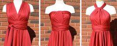 Vestido Infinito Tutoriales y Patrón | EL BAÚL DE LAS COSTURERAS