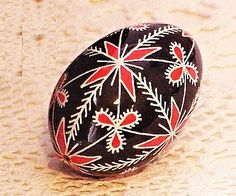 Chicken Pysanky Red Wiindmill SPECIAL ORDER by GoldenEggPysanky, $15.00