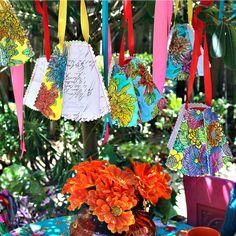 Stitched Paper Watercolor Lampshades DIY!  #MarkMontano #MakeYourMark #DIY #Marabu #GraphixAquaInk