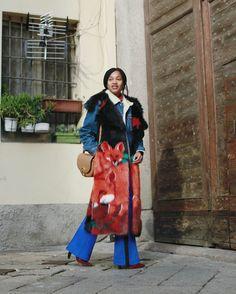 Tamu McPherson Milan Men's Fashion Week 2017