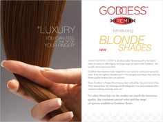 Goddess Remi introduces 11 new Blonde Shades - exclusively only at HairSisters.com