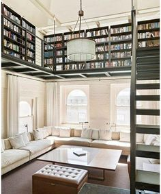 Unique Home Library