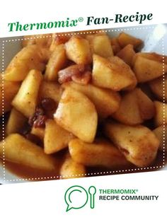 Recipe Stewed Apples by jazzfreak, learn to make this recipe easily in your kitchen machine and discover other Thermomix recipes in Desserts & sweets. Sweets Recipes, Fruit Recipes, Apple Recipes, Whole Food Recipes, Cooking Recipes, Stewed Apples Recipe, Stewed Fruit, Marmalade, Sweets