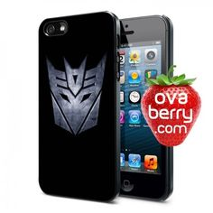 Transformers Decepticons Logo iPhone and Samsung Galaxy Phone Case