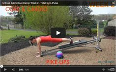 101 best total gym work outs images in 2020  total gym