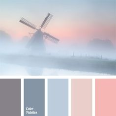 Pastel colors for the bedroom