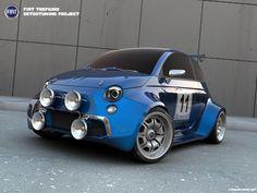 3D Fiat Abarth
