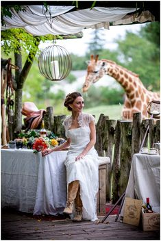Out of Africa wedding theme | Image by Ludivine B