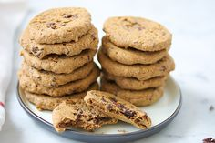 Flourless Chocolate chip Chickpea Blondies