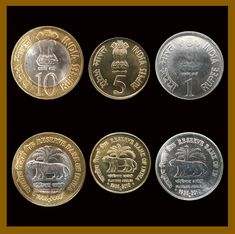 India 1 5 10 Rupees Pcs Full Coin Set) 2010 Tiger 75 Platinum Jubilee Unc - India Coin - Ideas of India Coin Mata Vaishno Devi, Coin Buyers, Gold And Silver Coins, Coins For Sale, India, Personalized Items, Ebay, History, Rajasthan India
