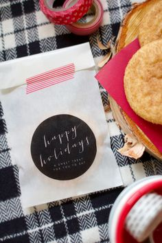 Printable Bags for Yo' Holiday Treats | Lovely Indeed