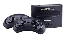 La Mega Drive est de retour chez Just for Games - La Mega Drive, en versions console de salon et console portable, vous replonge dans l'univers de Sega avec 80 jeux, dont les jeux Sonic (25ème anniversaire), Mortal Kombat, Shinobi...