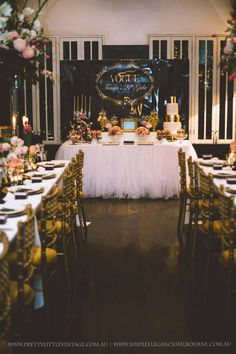 Little Big Company The Blog:Vogue Met Gala inspired party by Pretty Little Vintage & Simple Elegance