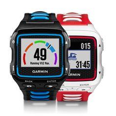 Garmin Forerunner 920XT  Multisport-GPS-Uhr mit Laufeffizienz und Online-Funktionen Laufeffizienz¹ Werte, einschließlich Schrittfrequenz, vertikale Bewegung und Bodenkontaktzeit VO2max-Berechnung², Lauf-Prognose und Erholungsratgeber Schwimmdistanz, Pace, Schwimmstilidentifizierung, Anzahl der Schwimmzüge, Übungsaufzeichnung und Erholungs-Timer Smartphone Benachrichtigungen³ zum Anzeigen von Email-, SMS- und anderen Alarmen direkt auf der Uhr