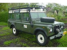 Mooie Land Rover Series Stage One