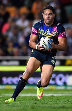 Antonio Winterstein of the North Queensland Cowboys National Rugby League, Rugby Players, Cowboys, Famous People, Exercise, Running, Sport, Top, Military Uniforms