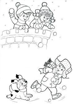 겨울 이미지 눈결정체 눈꽃 만들기 즐겨볼까요~ : 네이버 블로그 Winter Activities For Kids, Winter Crafts For Kids, Winter Fun, Winter Theme, Winter Sport, Christmas Coloring Sheets, Coloring Sheets For Kids, Coloring Pages For Kids, Coloring Books