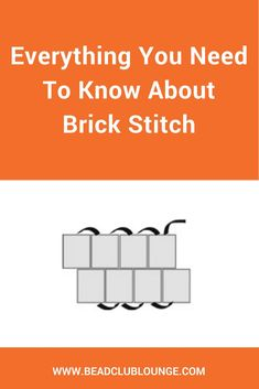 Best Seed Bead Jewelry 2017 Have you ever tried Brick Stitch? This beading technique can be used to create s Beaded Earrings Patterns, Bead Loom Patterns, Beading Patterns, Beaded Bracelets, Mosaic Patterns, Embroidery Patterns, Painting Patterns, Color Patterns, Beaded Necklace